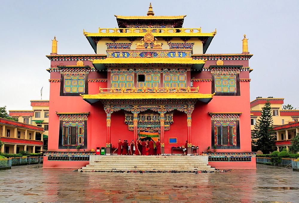 Shechen tibetan monastery, Kathmandu, Nepal.