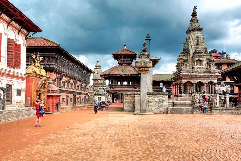 Durbar Square, Bhaktapur, Nepal.