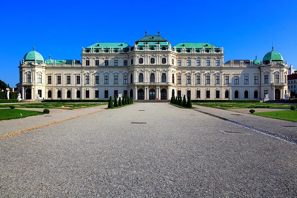 Upper Belvedere, Vienna, Austria.