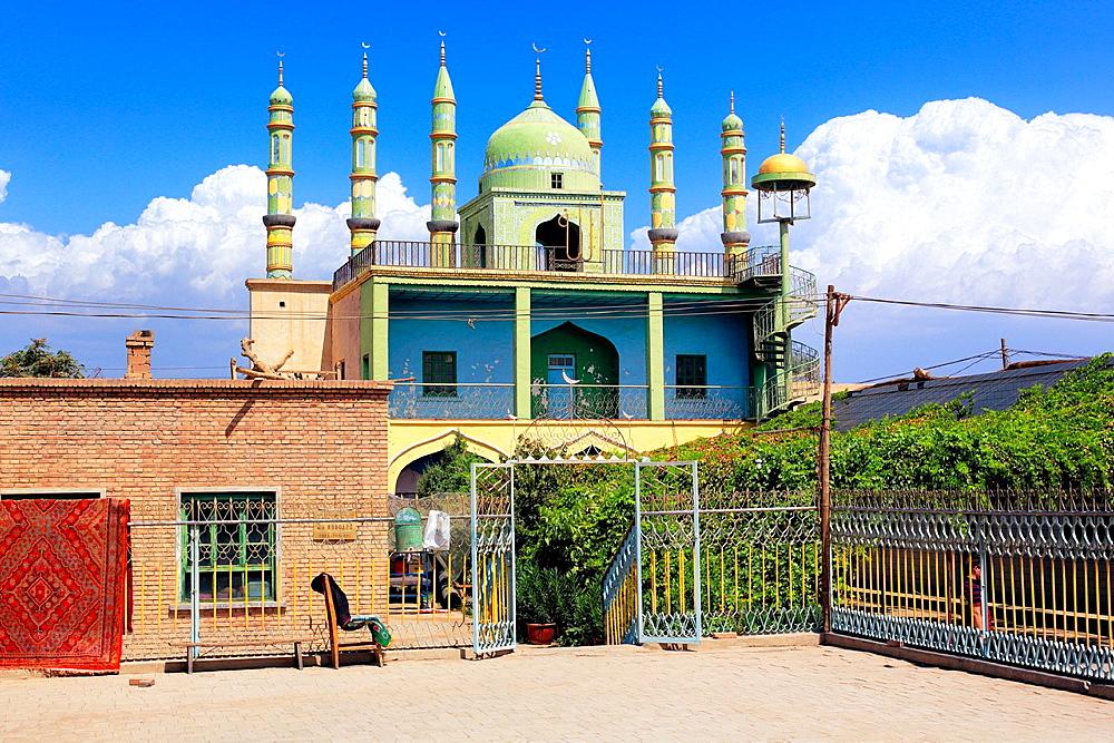 Turpan, Turpan Prefecture, Xinjiang Uyghur Autonomous Region, China.