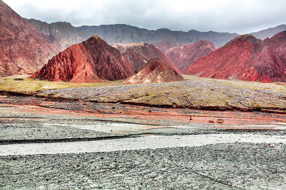 Oytagh valley, Kizilsu Prefecture, Xinjiang Uyghur Autonomous Region, China.
