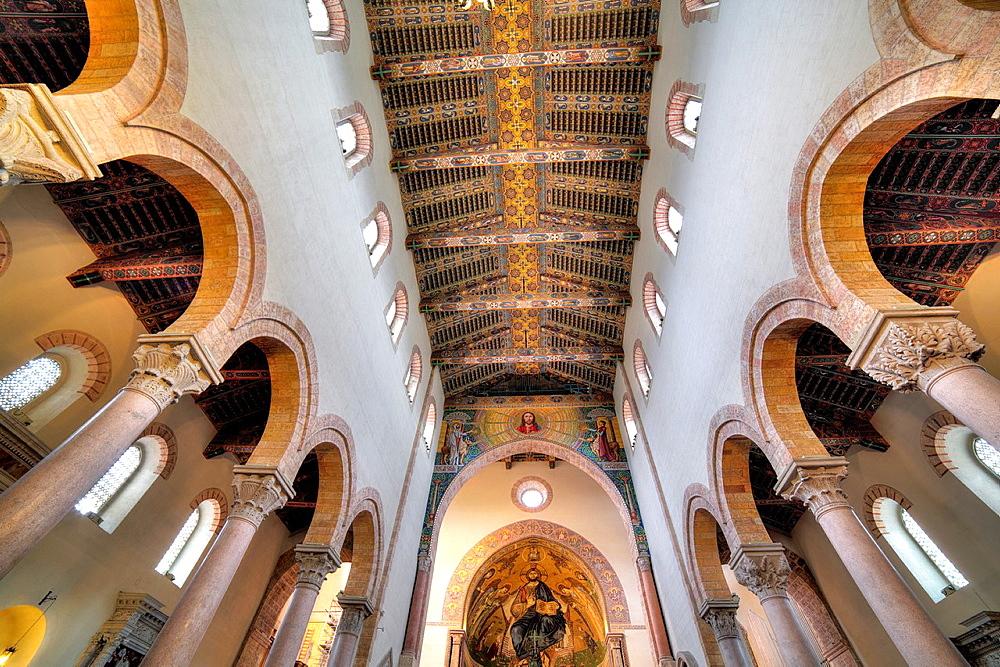 Messina Cathedral, Messina, Sicily, Italy.