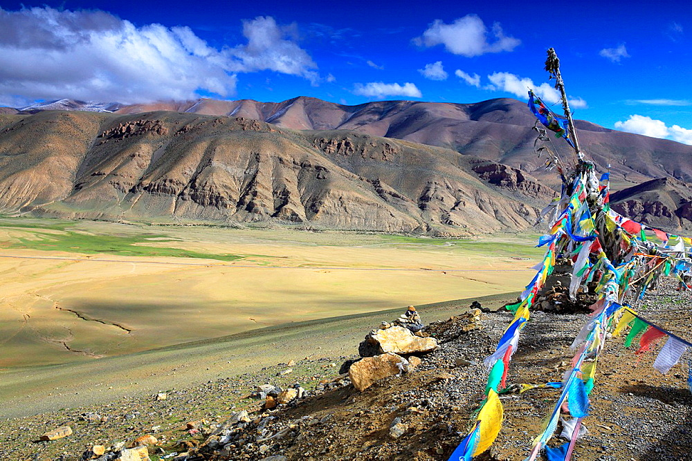 Sacred place, Shigatse Prefecture, Tibet, China.