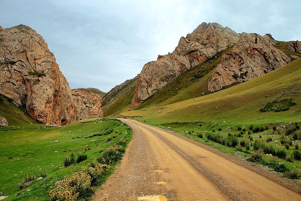 Tash Rabat valley, Naryn oblast, Kyrgyzstan.