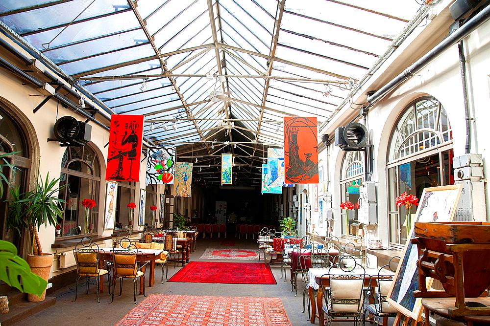 Galeria Freta Cafe Art Gallery, Nowe Miasto, Warsaw, Poland.