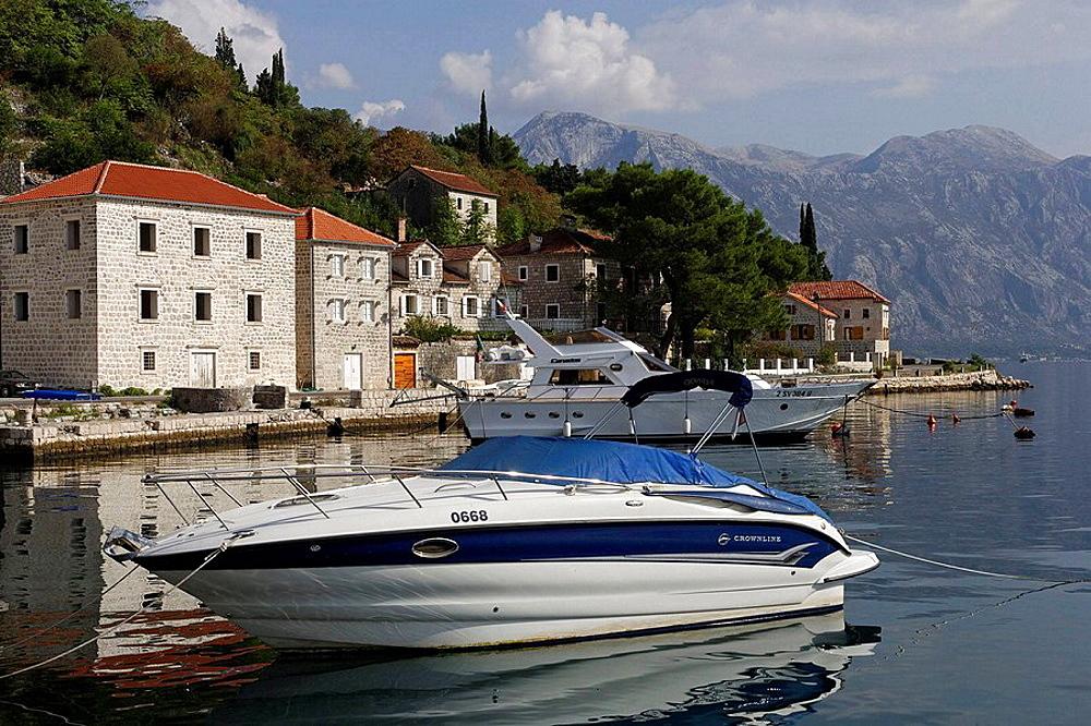 Perast,old town,Kotor Bay,Montenegro