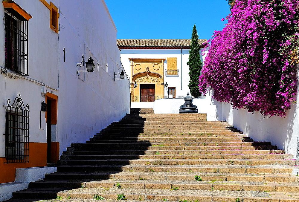 Nuestra Senora de la Paz Square.Cordoba.Andalusia.Spain.