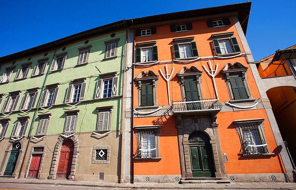 Lungarno Gambacorti Street, boulevard along Arno River, Pisa, Italy, Europe.