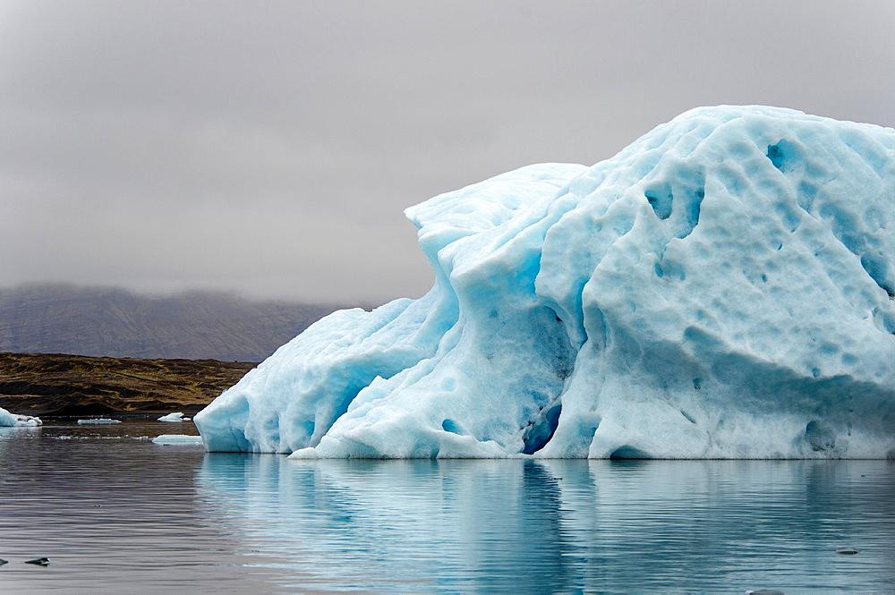 Jokulsarlon lake, Iceland.