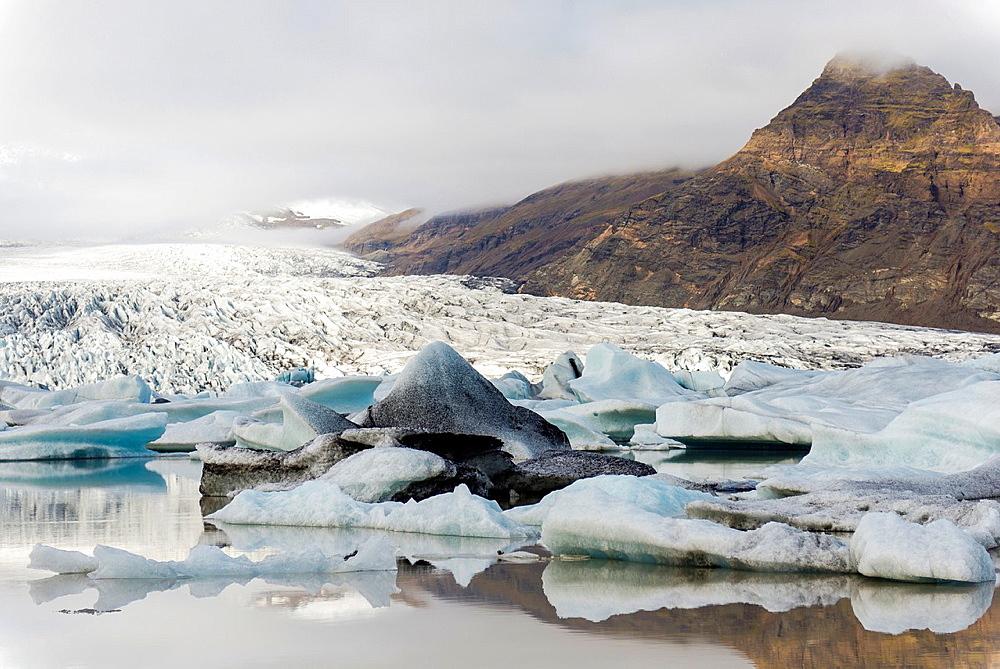 Fjarsarlon, Iceland.