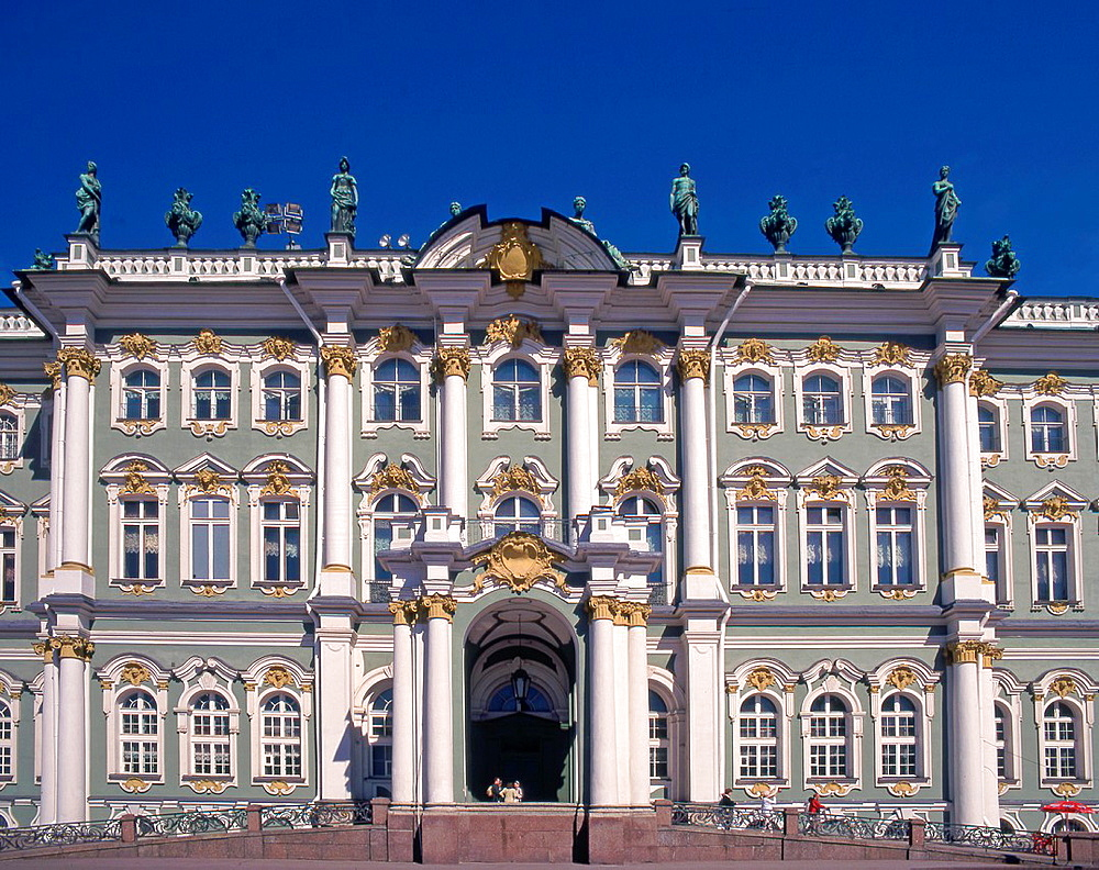 Russia, St Petersburg, Winter Palace,