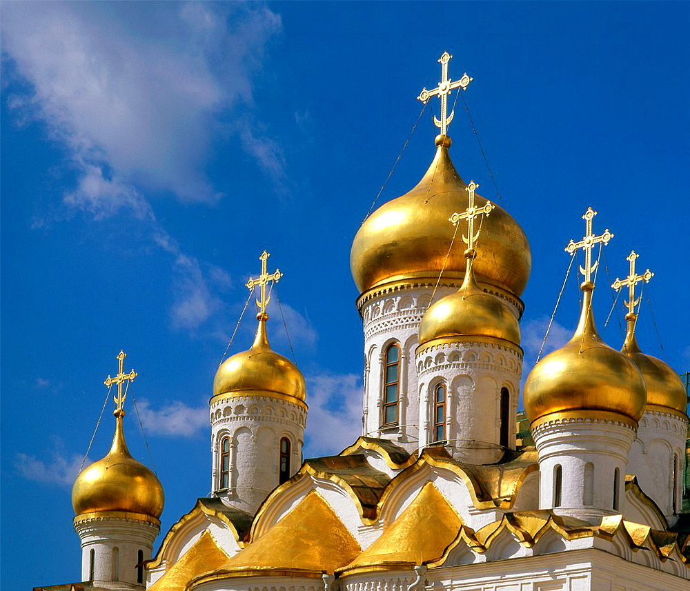 Russia, Moscow, Kremlin, Cathedral of the Annunciation,