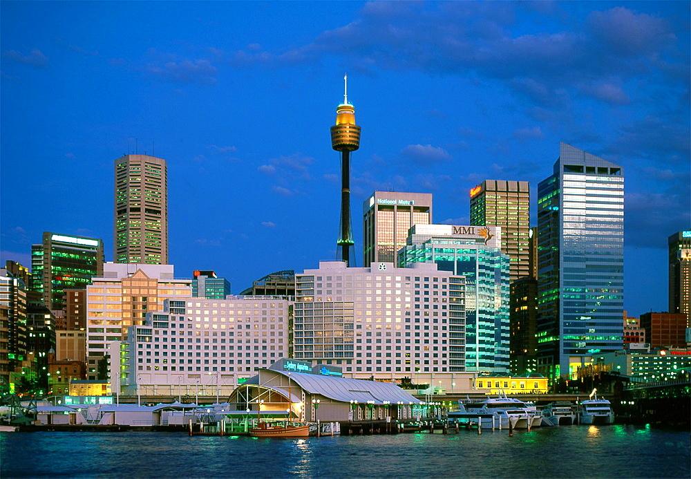 Australia, Sydney, skyline, downtown,