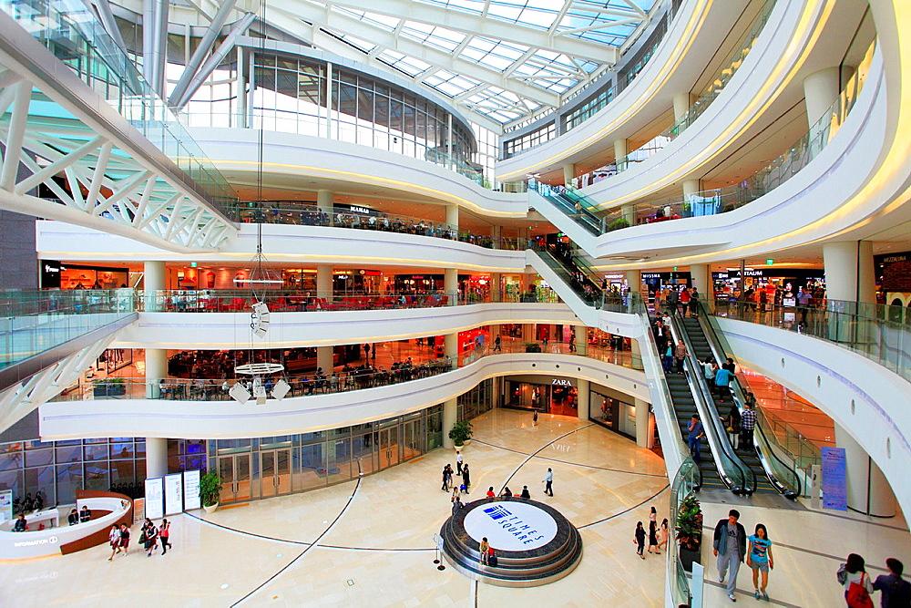 South Korea, Seoul, Times Square, shopping mall,.