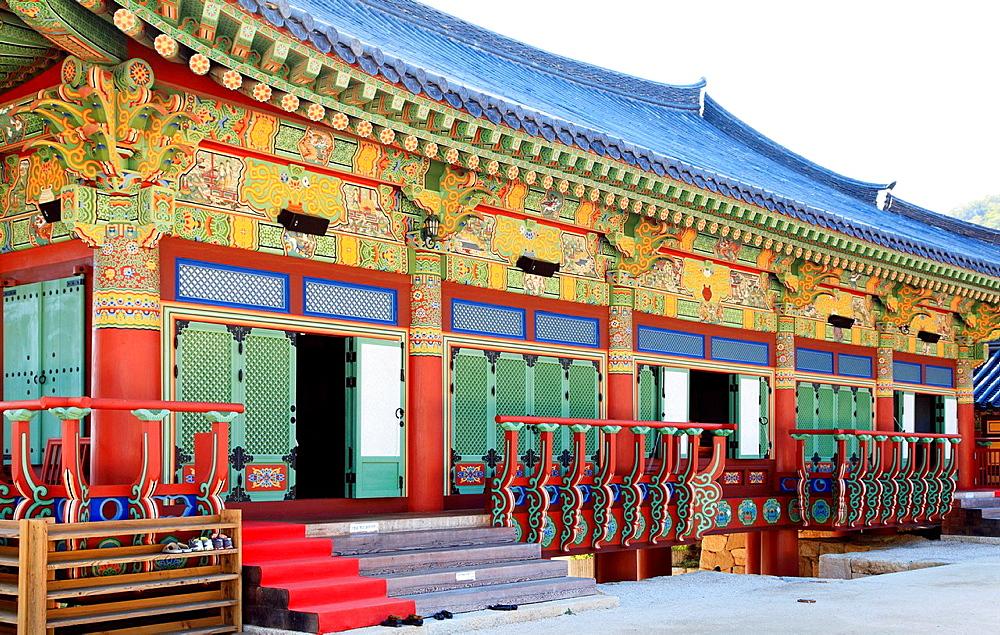 South Korea, Busan, Beomeo-sa, buddhist temple,. - 817-469806