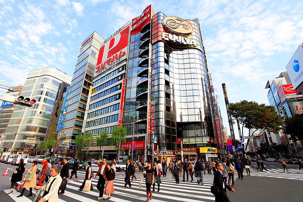 Japan, Tokyo, Ginza, street scene, people,. - 817-469971