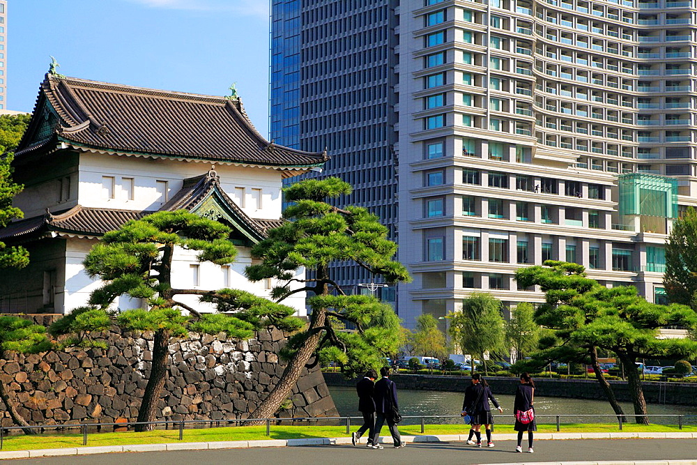 Japan, Tokyo, Imperial Palace, Palace Hotel,.