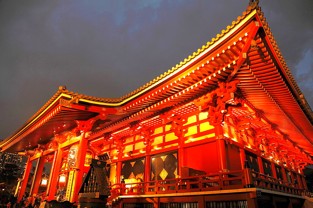Japan, Tokyo, Asakusa, Sensoji Temple,. - 817-470049