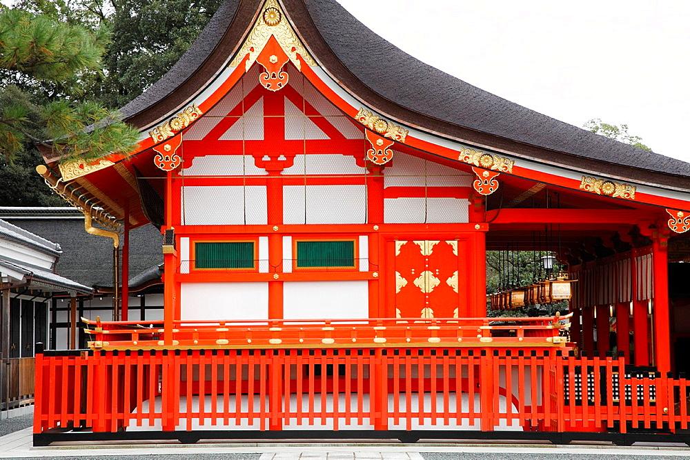 Japan, Kyoto, Fushimi Inari Taisha Shrine,.