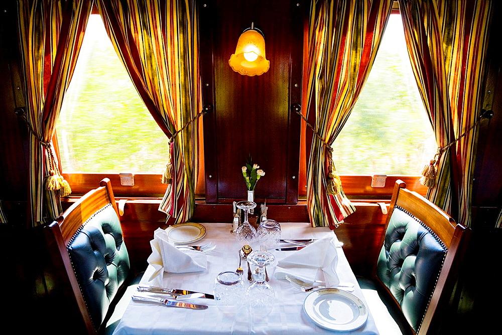 rovos rail train.