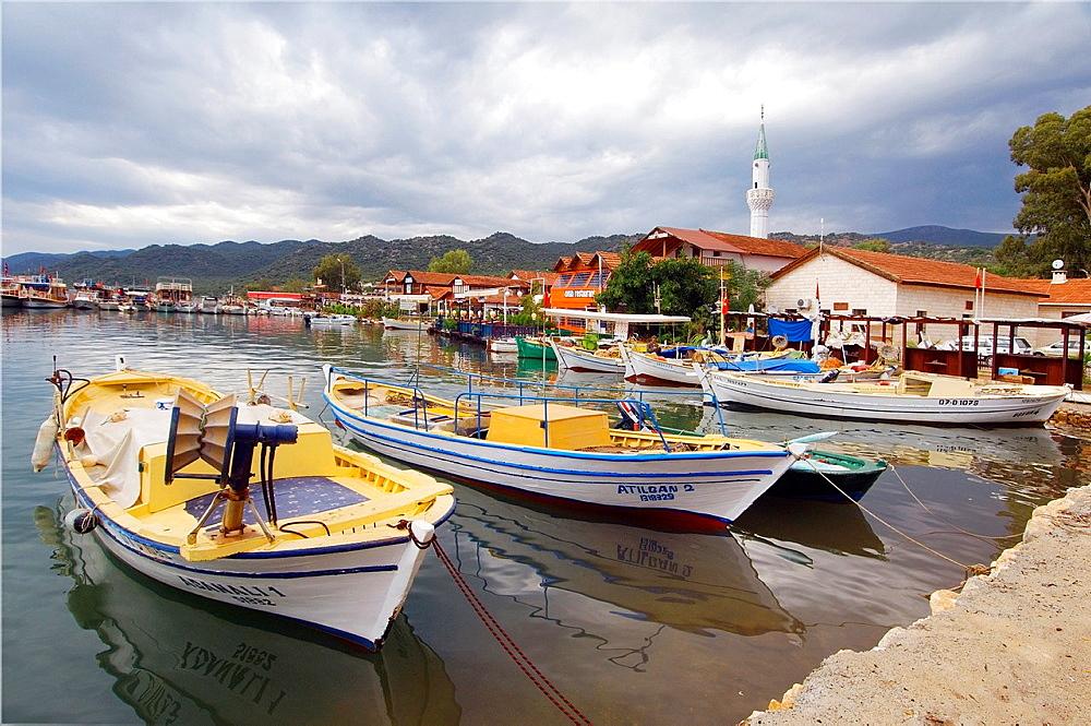 Port of Kekova, Turkey.