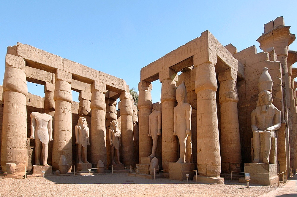 Luxor Temple Complex, Luxor (Thebes), Egypt, Africa.