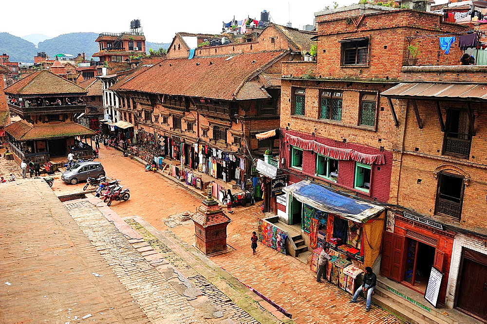 Taumadhi Tole square, Bhaktapur, Nepal