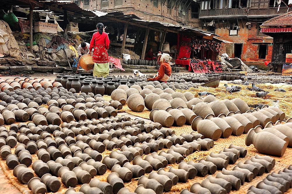 Potter's Square, Bhaktapur, Nepal