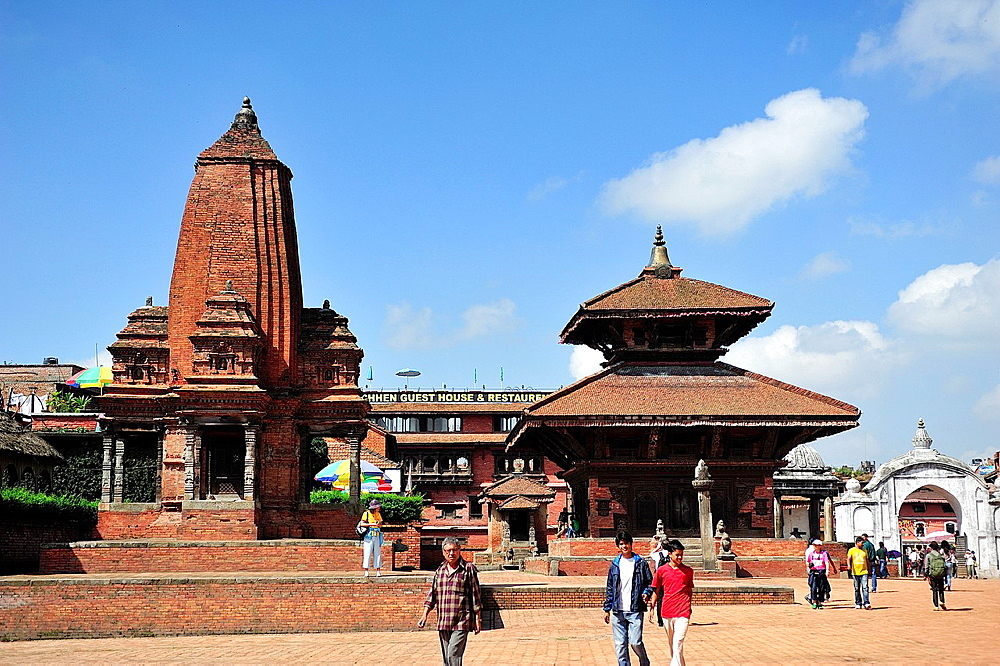 Hindu Temple on Durbar Square, Bhaktapur, Nepal