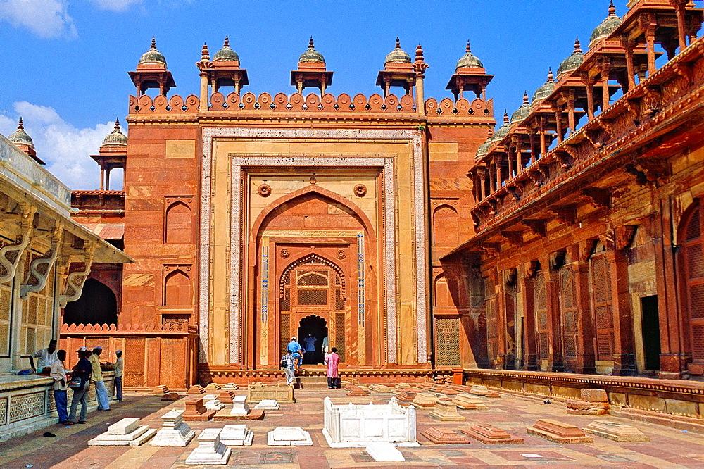 Palace, Fatehpur Sikri, Uttar Pradesh state, India