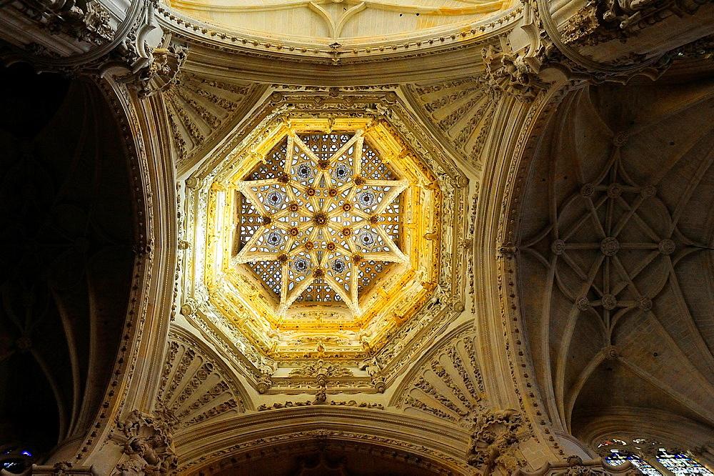 Openwork star vault, Cathedral, Burgos, Spain