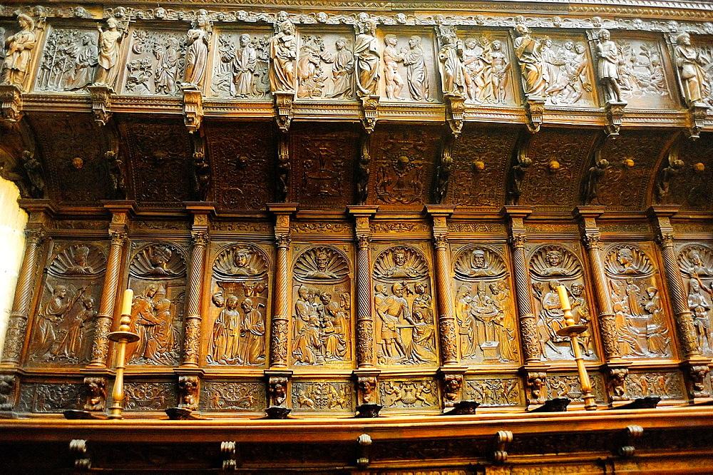 Choir, Cathedral, Burgos, Spain
