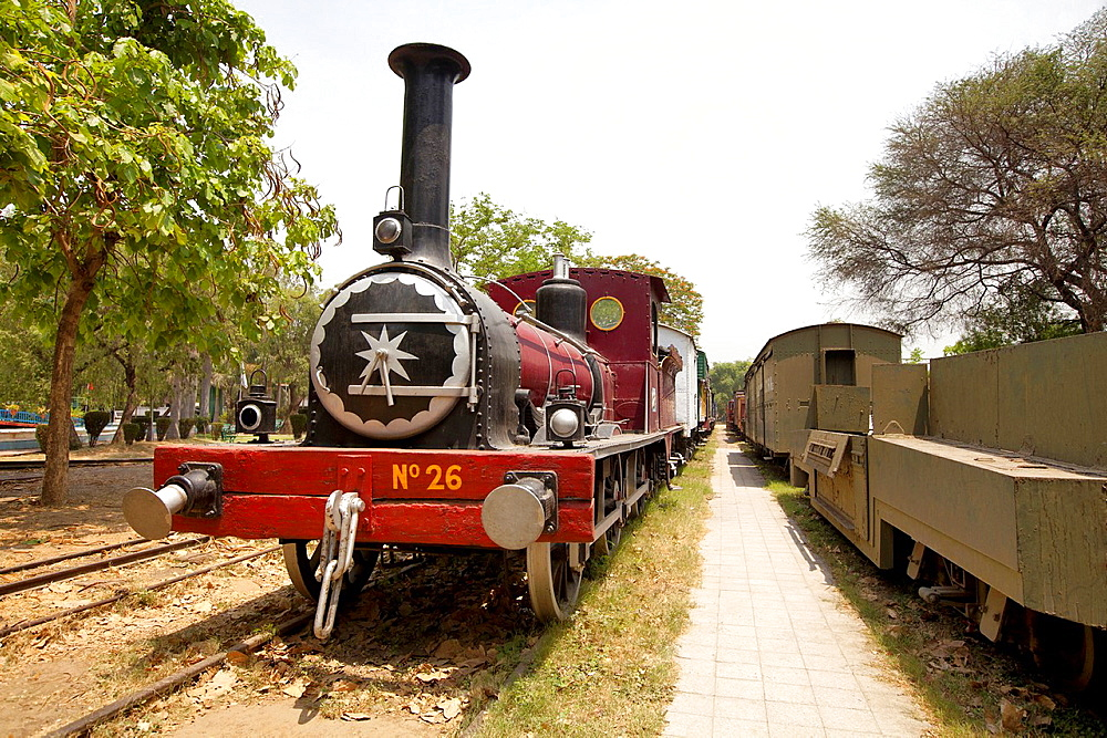 Train museum, Delhi, India.