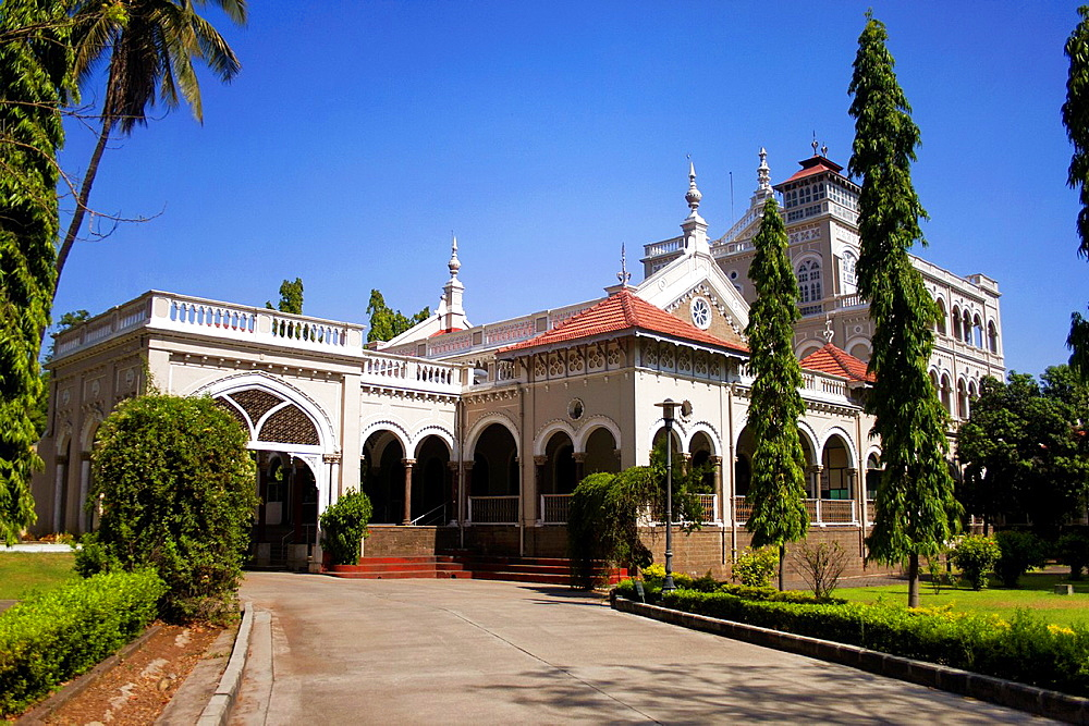 Aga Khan Palace was built in the year 1892 by Sultan Mohammad Shah Aga Khan III in Pune, Maharashtra. India