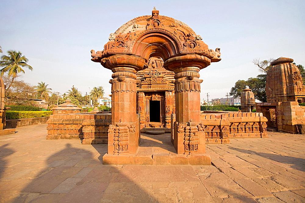 Torana or arched gateway. Muktesvara deula, 10th-century Hindu temple dedicated to Shiva. Bhubaneshwar, Odisha, India