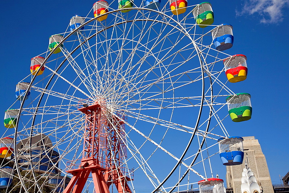 big wheel at luna park,sydney.