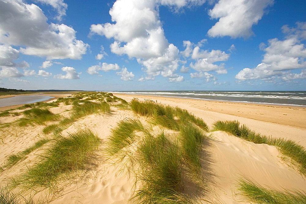 Holkham Beach North Norfolk Coast September, UK.