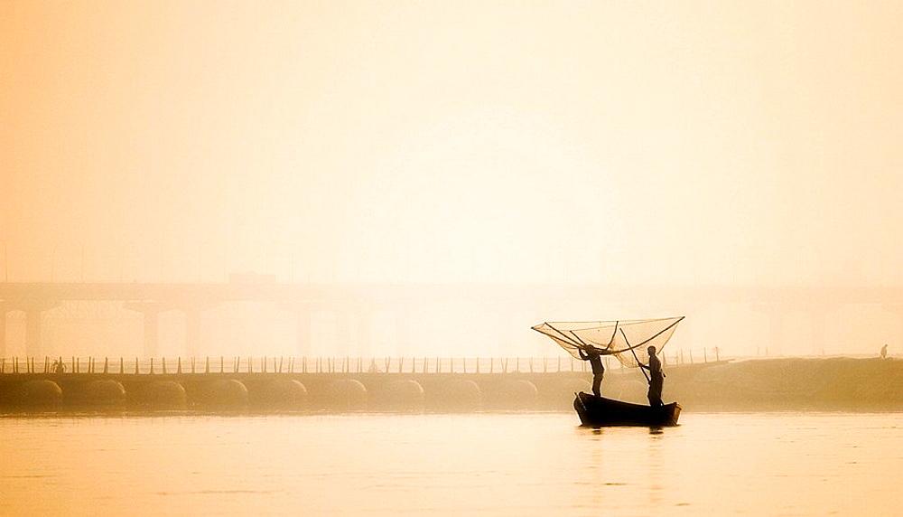 Fishermen, Allahabad, Uttar Pradesh, India - 817-50088