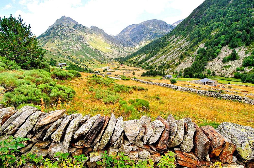 Soldeu, Incles valley, Andorra