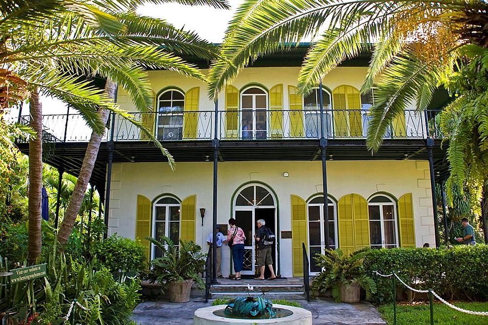 Hemingway House and Gardens, Key West, Florida, USA