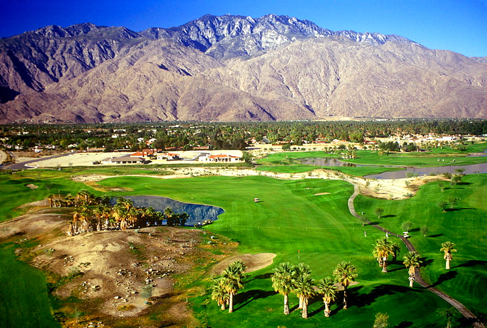 Mission hills golf & country club, Palm springs, California, USA.