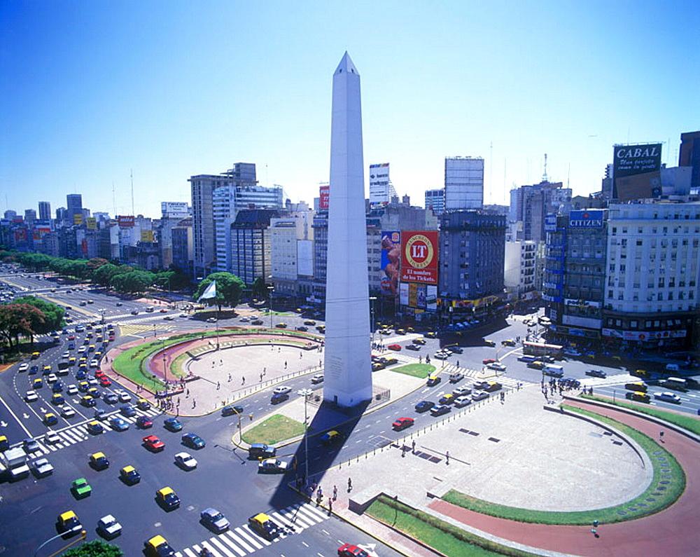 Obelisk, Plaza de republica, Buenos aires, Argentina. - 817-53193