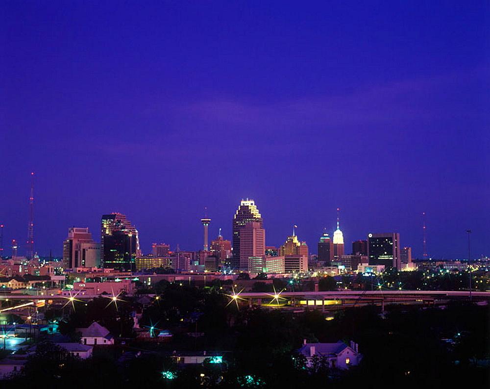 Downtown, San antonio, Texas, USA.
