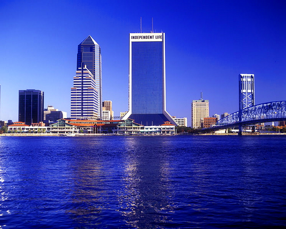Downtown, Jacksonville, Florida, USA.