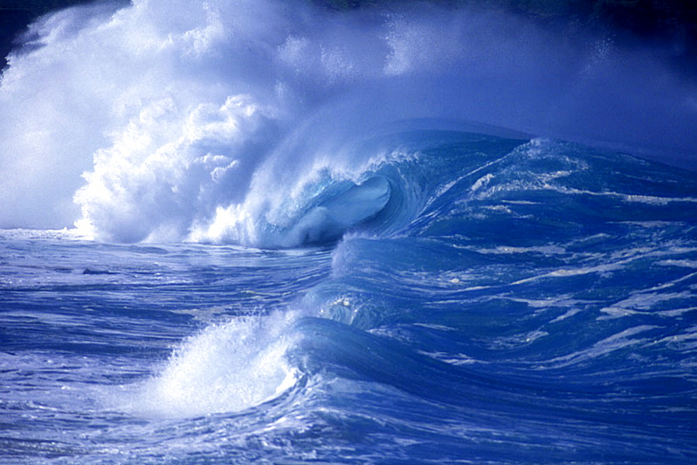 Scenic wave: storm wave. - 817-57793