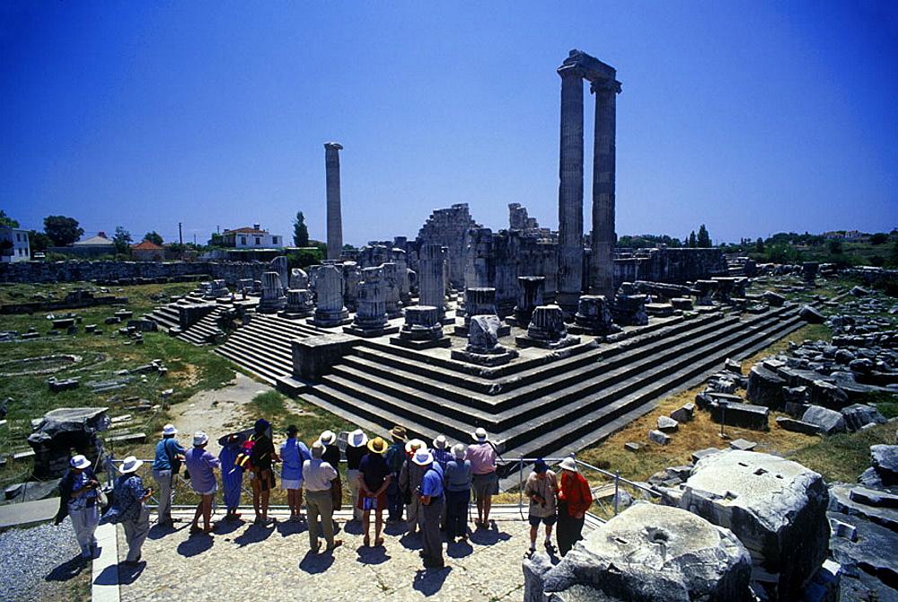 Temple of apollo, Didyma ruins, Turkey.