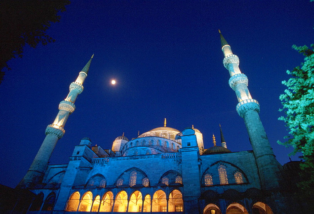 Blue Mosque, Istanbul, Turkey - 817-597