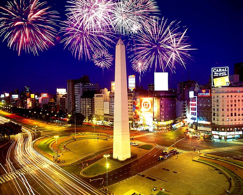 Obelisk plaza de, republica buenos, aires argentina - 817-61530
