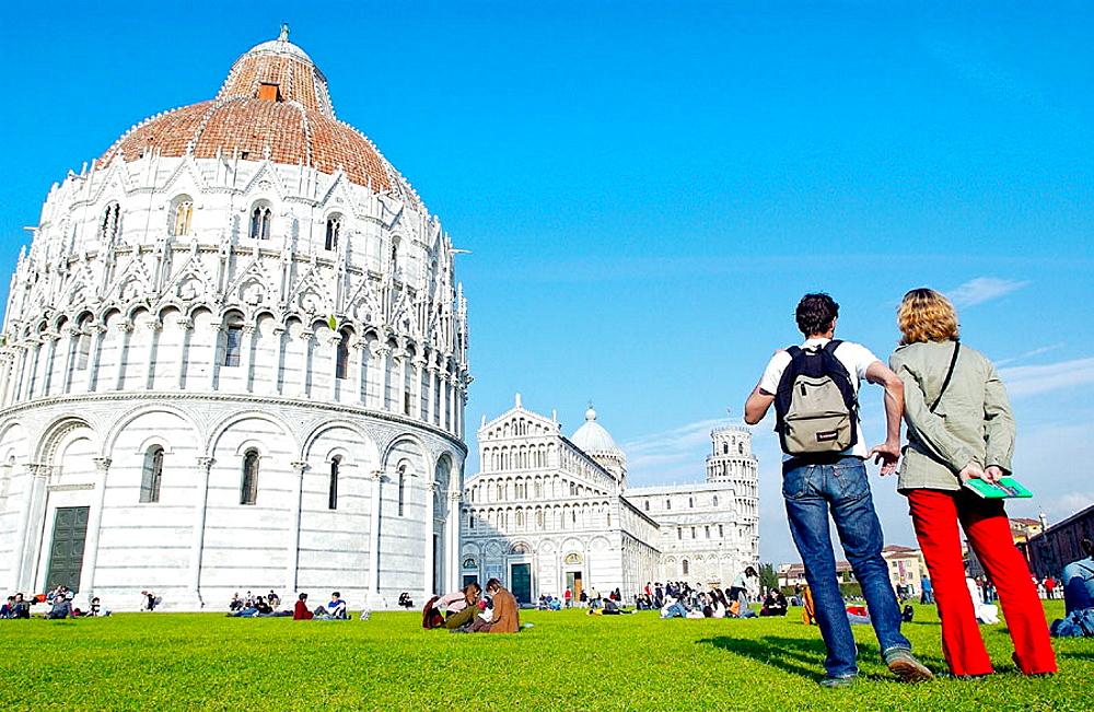 Piazza dei Miracoli, Pisa, Tuscany, Italy