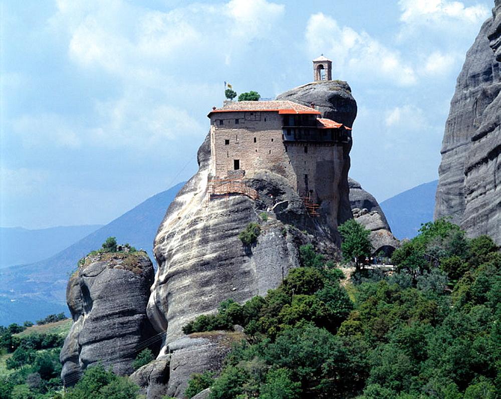 Agios Nikolaos Anapafsas Monastery, Meteora, Greece